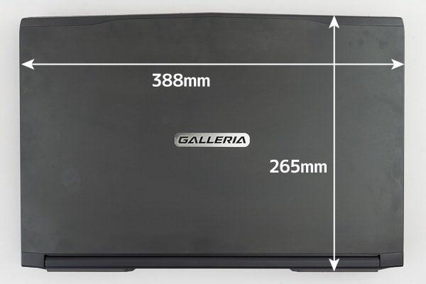 GALLERIA GCF1060GF 大きさ