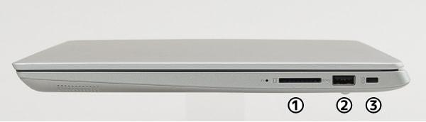 Ideapad 330S(14) 右側面