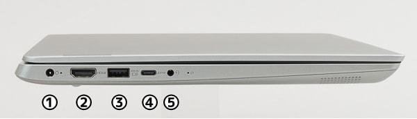 Ideapad 330S(14) 左側面