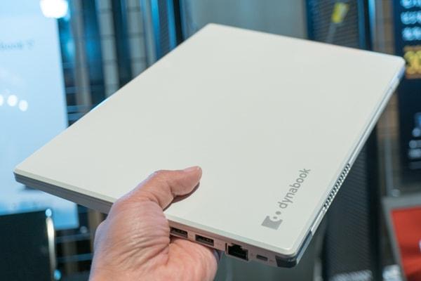 dynabook G ホワイトモデルの重さ