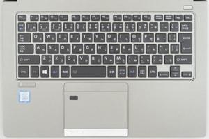 dynabook RZ63 特徴 タイプ感に優れるキーボード