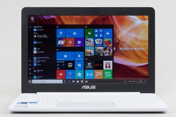 ASUS E203MA 画面のスペック