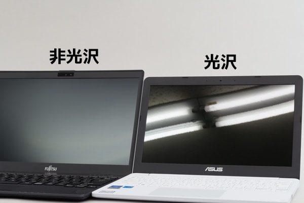 ASUS E203MA グレアパネル