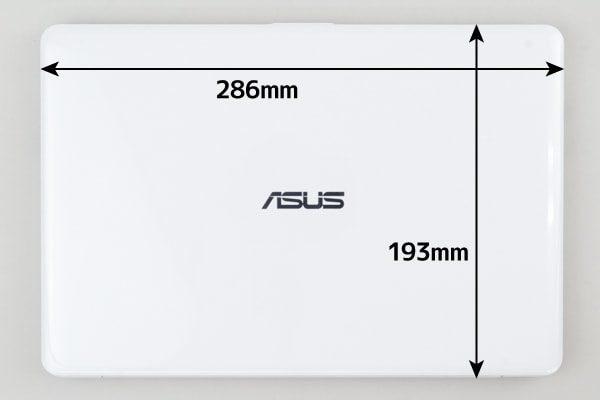 ASUS E203MA 大きさ