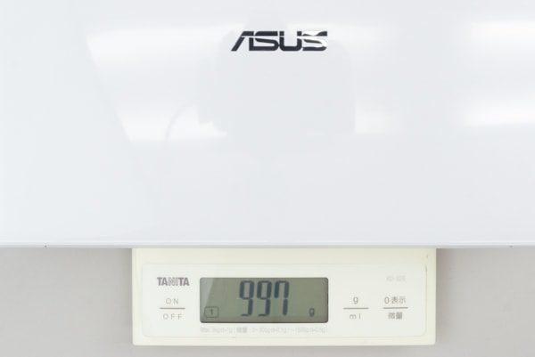ASUS E203MA 重さ