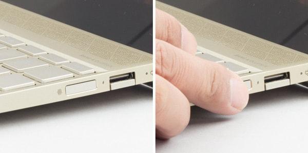HP ENVY 13-ah0000 指紋センサー