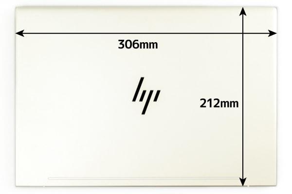 HP ENVY 13-ah0000 本体サイズ