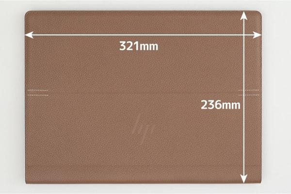 HP Spectre Folio 13 本体サイズ