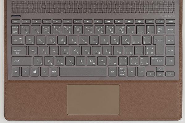 HP Spectre Folio 13 キーボード
