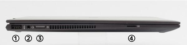 HP ENVY 13 x360 左側面