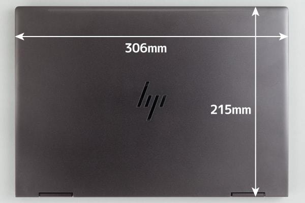 HP ENVY 13 x360 本体サイズ