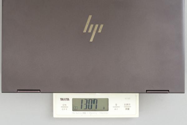 HP ENVY 13 x360 重さ