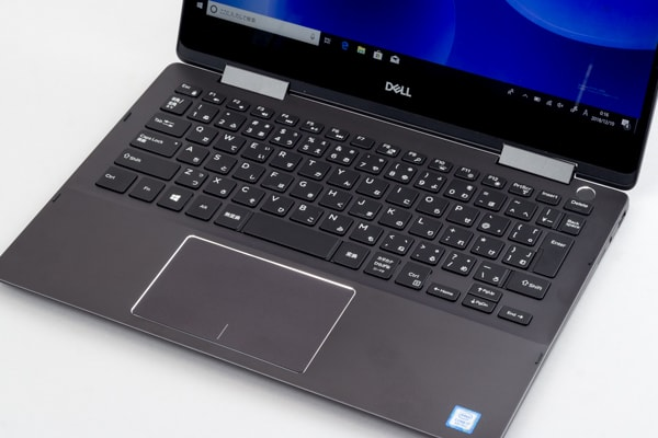 Inspiron 13 7000 2-in-1 キーボード面