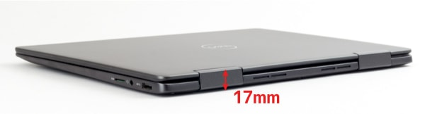Inspiron 13 7000 2-in-1 厚さ