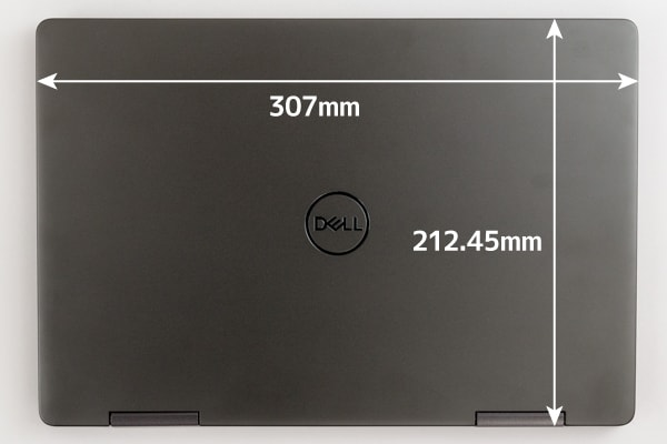 Inspiron 13 7000 2-in-1 本体サイズ