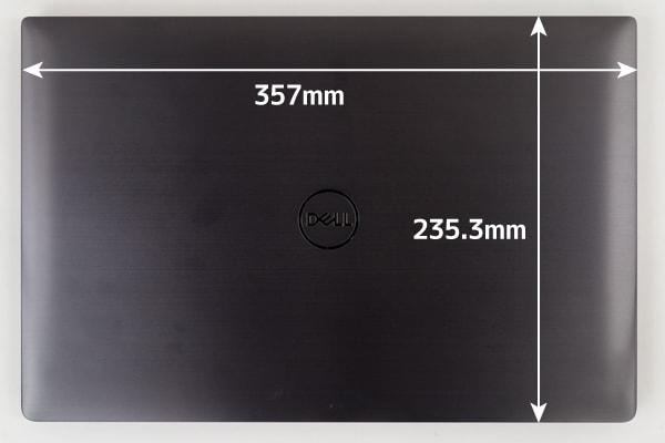 Precision 15 5000 (5530) 本体サイズ