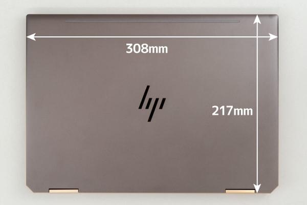 HP Spectre x360 13 本体サイズ