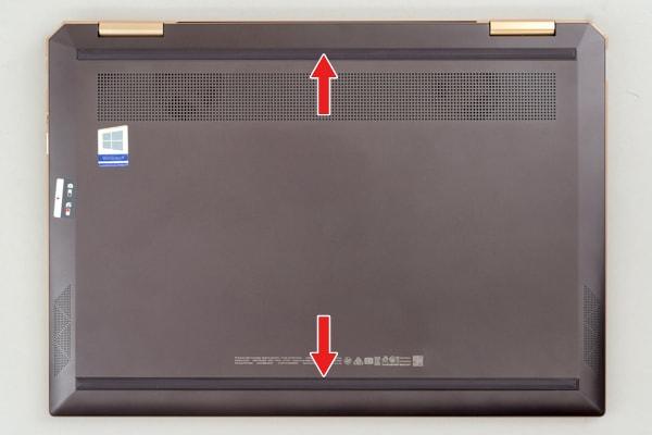 HP Spectre x360 13 ゴム足