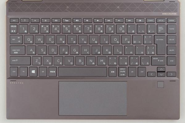 HP Spectre x360 13 キーボード
