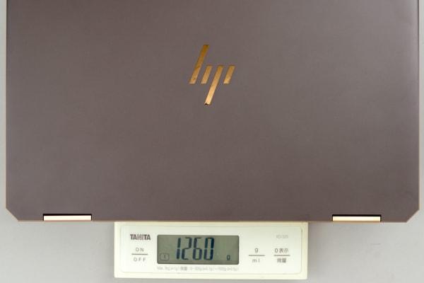 HP Spectre x360 13 重さ