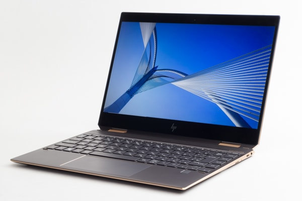 HP Spectre x360 13 キーボード面