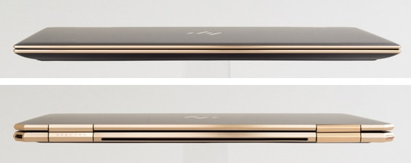 HP Spectre x360 13 前面と背面