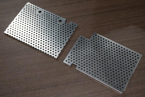 VAIO SX14 放熱板の比較