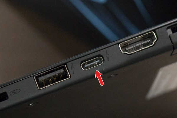 VAIO SX14 USB Type-C 充電