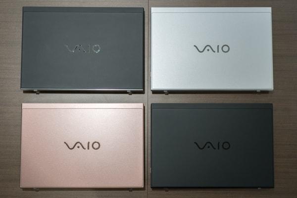 VAIO SX14 4種類のバリエーション