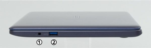 ASUS VivoBook W203MA 右側面
