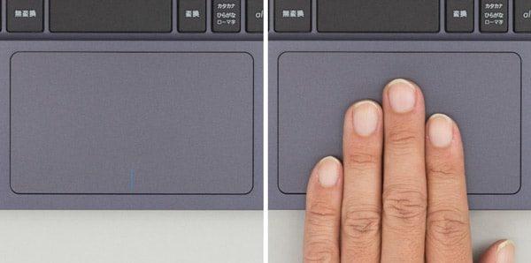 ASUS VivoBook W203MA タッチパッド