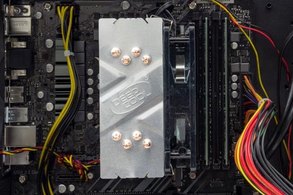 GALLERIA ZF CPUとメモリー