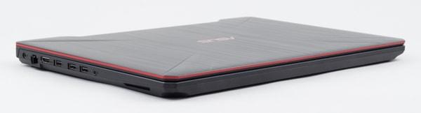 ASUS FX504 デザイン