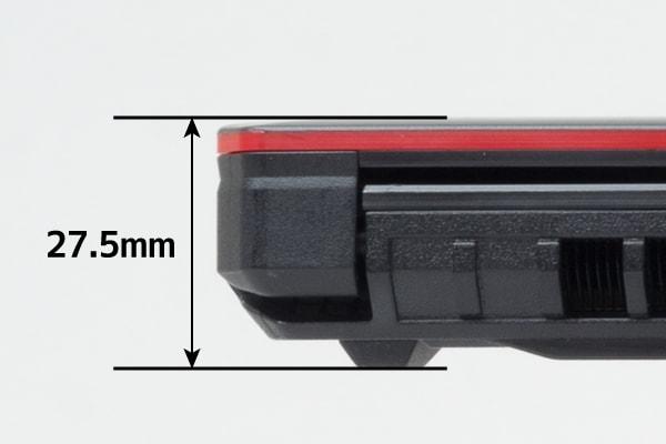ASUS FX504 薄さ