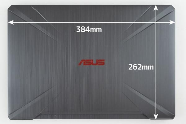 ASUS FX504 本体サイズ