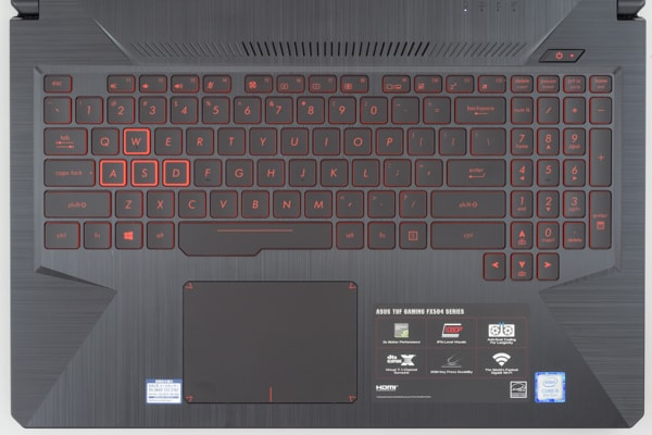 ASUS FX504 キーボード