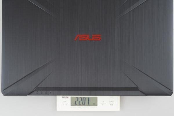 ASUS FX504 重さ