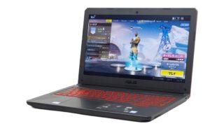 ASUS TUF Gaming FX504 レビュー:耐久性が高く長期間安心して使えるゲーミングノートPC
