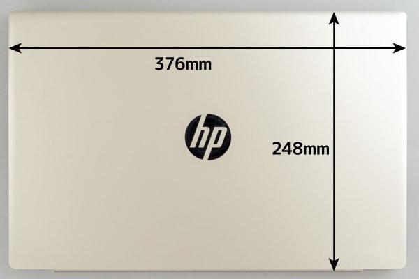 HP Pavilion 15-cu0000 本体サイズ