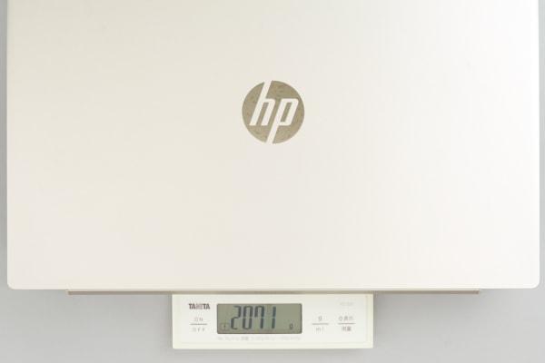 HP Pavilion 15-cu0000 重さ