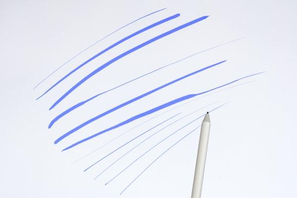 Surface Studio 2 ペンの筆圧