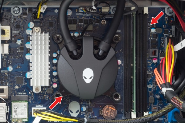 ALIENWARE AURORA R8 CPUとメモリー