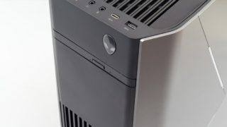 デル ALIENWARE AURORA R8 レビュー:RTX2080 SLIも可能なカスタマイズ性重視のゲーミングPC