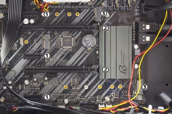 GALLERIA ZG i7-9700K 拡張スロット