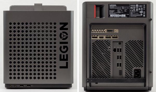 Legion C530 フロントパネルとバックパネル