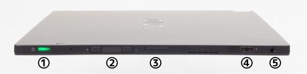 VAIO A12 タブレット右側面