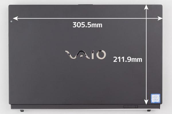 VAIO A12 本体サイズ