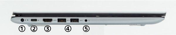 Vostro 15 5000 (5581) 左側面