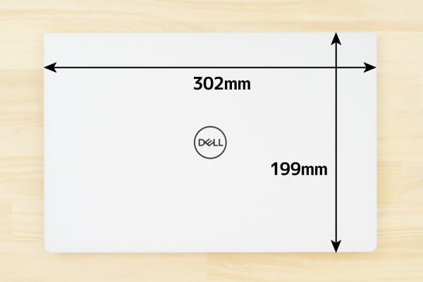 XPS 13 (9380) 本体サイズ