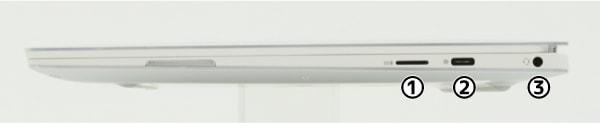 XPS 13 (9380) 左側面